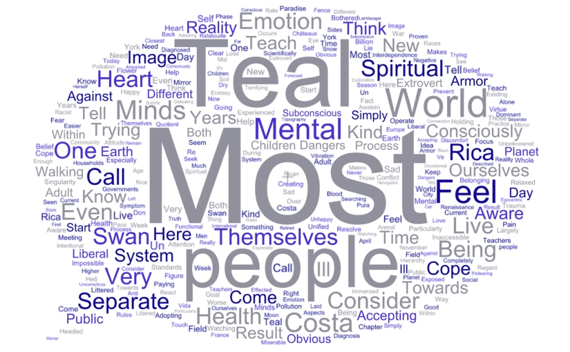 "Teal Swan's ""Most People"""