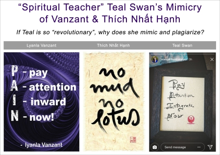 Teal Swan Plagiarizes From Thich Nhat Hanh